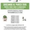GIOCANDO AL PARCO 2019