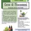 CORSO DI FITOCOSMESI