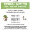 GIOCANDO NEL PARCO 2018
