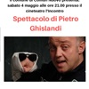 SPETTACOLO GHISLANDI PIETRO 04 MAGGIO 2019