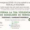 EMERGENZA COVID-19  NON ALLA VIOLENZA