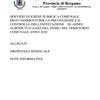 ORDINANZA E NOTE INFORMATIVE PREVENZIONE E CONTROLLO ZANZARA TIGRE 2020