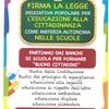 ANCHE ANCI ci invita a sottoscrivere la RACCOLTA FIRME per l'educazione alla cittadinanza